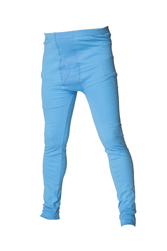 Långkalsong blå