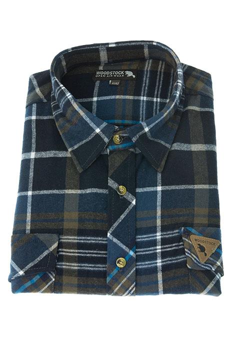 Flanellskjorta stora storlekar