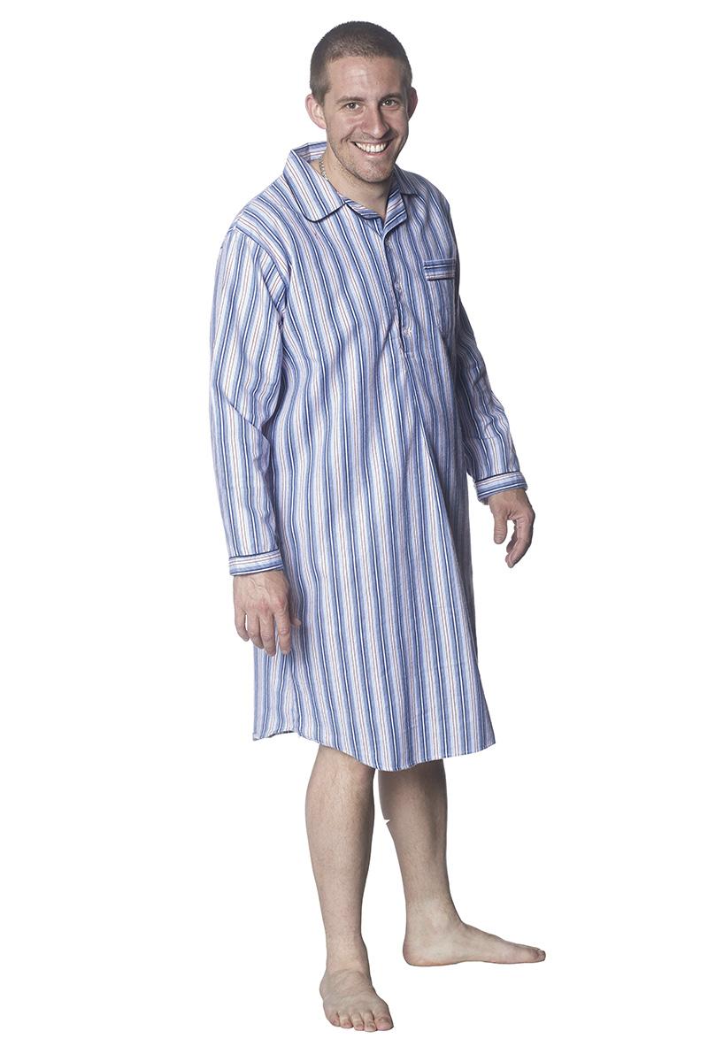 Nattskjorta flanell