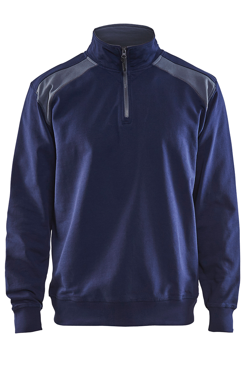 Seatshirt half-zip Blåkläder