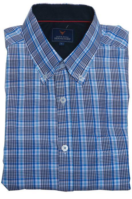 Rutig skjorta kort ärm