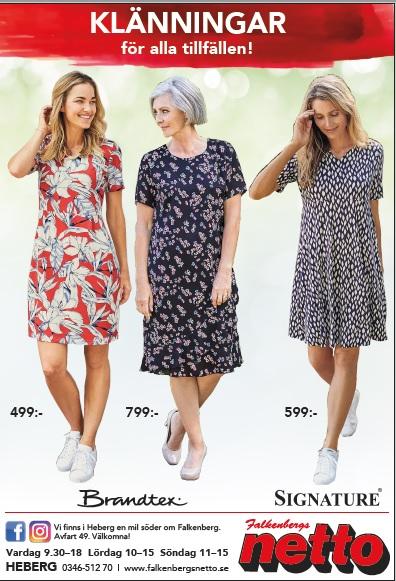 Damklänningar Vår Sommar Falkenberg