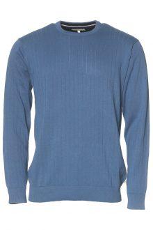 Pullover bomull blå