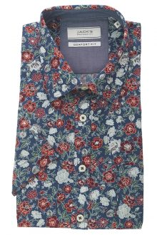 Skjorta mönstrad